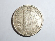 1994 ONE POUND £1 COIN - ISLE OF MAN - MOBILE PHONE TECHNOLOGY - ELLAN VANNIN