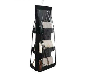 Bolso colgante para Carteras 8 bolsillos de almacenamiento soporte organizador