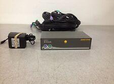 D-Link DKVM-4 PS/2 4-Port KVM Switch w/ 4 Cables + AC Adapter