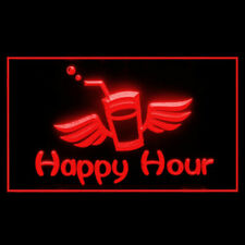 170185 Happy Hour Dance Extravaganza Catering Rejoice Display Led Light Sign