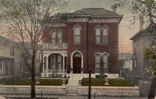 Postcard James Whitcomb Riley Residence Indianapolis In