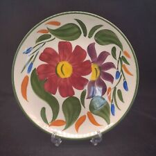 More details for vintage wade royal victoria hand painted pottery plate sorrento design gift