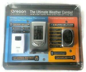 Preços Baixos Em Bateria Oregon Scientific Higrômetro Umidade Estações Meteorológicas Ebay