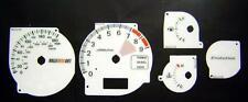 Lockwood Mitsubishi Evolution 7/8/9 WHITE (Orange) Dial Kit 45JJ