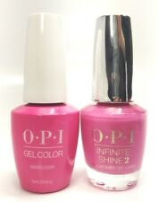 OPI GelColor Shorts Story #B86 + Infinite Shine #B86