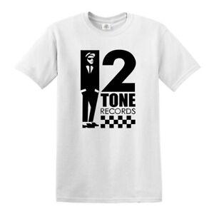 2 Tone Records The Specials Retro Music T-Shirt SKA Northern Soul Reggae tshirt