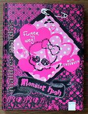 Monster High Mein Tagebuch Finger weg NEU