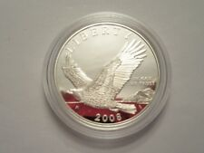 2008 US Mint Proof Silver Dollar, Bald Eagle, mint pkg w/ coa