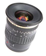 Tamron AF 11-18mm f4.5-5.6  SP Di II SP (IF) Lens  - For  Canon + F/R Lens Caps