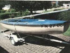 Segelboot (Jolle) mit Heinemann Trailer ca. 3,70 mx 1,50 m Bodenseezulassung FN