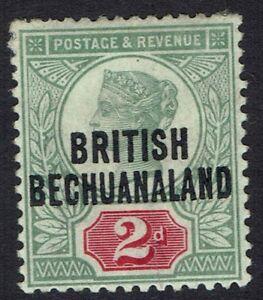 BECHUANALAND 1891 QV GB 2D