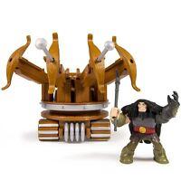 Dreamworks Dragons Drago & War Machine Action Dragon Riders Figure