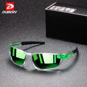 DUBERY Sports Men Polarized Sunglasses Daily Leisure Travel Anti-Glare UV400