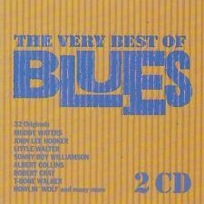 Very best of Blues (1992, Eurostar) Muddy Waters, John Lee Hooker, Litt.. [2 CD]