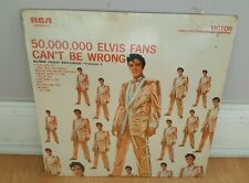 RARE SEALED LP - ELVIS - 50,000,000 ELVIS FANS CAN'T BE WRONG RCA LSP-2075(e).