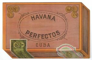[Cigars.] Havana Perfectos, Cuba.