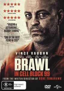Brawl In Cell Block 99 (DVD, 2018) Australian Stock