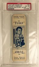 Edward G. Robinson PSA 4 Authentic 1949 Turf Cigarettes-With Tab 1/1 POP 1 RARE