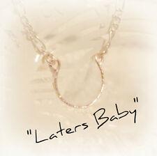 50 Shades Inspired Horseshoe Necklace, Ana's Necklace, Lucky Horseshoe Pendant