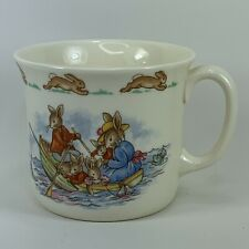 Bunnykins Royal Doulton Row Boart Tea Cup English Fine Bone China