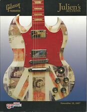 JULIEN'S GIBSON Foundation Guitar Charity Auction Catalog 2007