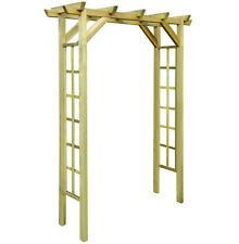 Wooden Garden Arch Trellis Arbour Rose Roses Plants Climbing Support Archway