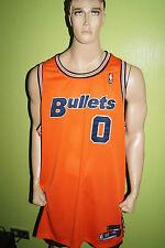 REEBOK Gilbert ARENAS Bullets Basketball Trikot Maillot Jersey Gr.60 orange blau
