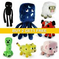 Minecraft Plush Toy Kids Gift Children Stuffed Animal Soft Plushies Game TOY