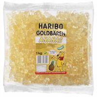 Haribo Weiss Ananas Sortenrein 3 x 1Kg im Karton
