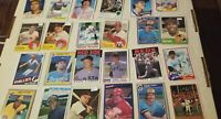 HUGE BASEBALL CARD COLLECTION 2500+CARD LOTS LOADED WITH STARS,REFR & ROOKIES+