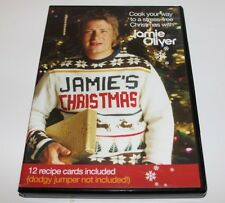 Jamie's Christmas dvd & 12 Recipe Cards Included