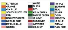 VINYL DECALS, 2 COLOR CHOICES, BOAT NUMBERS, SNOWMOBILE STICKERS WOW!