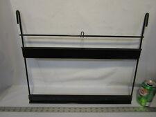 Vintage black metal Sign holder frame for cardboard or thin wood signs 20' wide