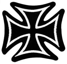 """Iron Cross - Woven Sew On Patch 3"""" x 3.15"""""""
