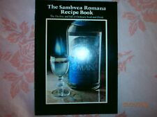 Vintage SAMBVCA ROMANA Liqueur of Italy Recipes Book Pamphlet FREE SHIPPING