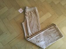 NWT Juicy Couture New & Genuine Tan Velour Tracksuit Pants Girls Age 10