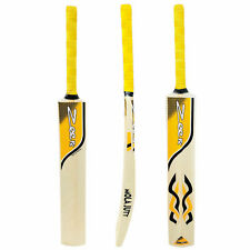 NEW Zeepk Tennis Tape Ball Cricket Bat Full Size Hand Made Kashmir Willow Yellow