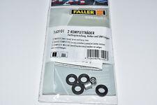 Faller Car System 163101 2 unid. completamente ruedas llanta/neumáticos camión nuevo & OVP 161720
