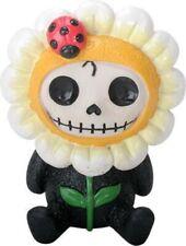 Furrybones Daisy Skeleton Dressed in Flower Costume Halloween Figurine New