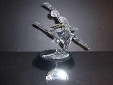 Swarovski SCS Magic of Dance Anna 2004 MINT w/Boxes Stand Plaque Papers