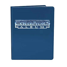 Ultra Pro Blue 4-Pocket Collectors Portfolio: Trading Card Album YuGiOh Pokemon