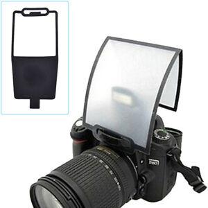 Foldable White Camera Flash Light Diffuser Softbox Reflector Gadgets KV