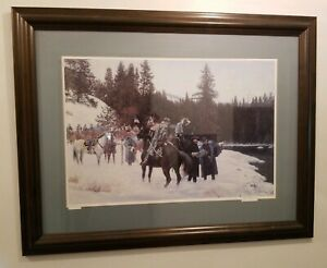"""Signed Don Stivers Limited Edition Lithograph """"In Pursuit"""" #546 Of 750...."""