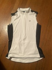 Pearl Izumi Cycling Vest Womens Large White/Black