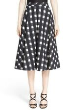 NEW! Nordstrom Signature and Caroline Issa 'Kate' Full Check Cotton Skirt (8)