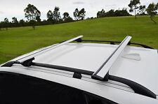 Volkswagen Tiguan 09-16 Aero Roof Rack Cross Bar Alloy Lockable Adjustable 120cm