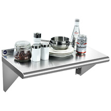 1224 Stainless Steel Shelf Nsf Commercial Wall Mount Shelf Kitchen Restaurant