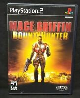 Mace Griffin Bounty Hunt  PS2 Playstation 2 COMPLETE Game 1 Owner Near Mint Disc