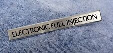 NOS NEW 80s Ford Lincoln Mercury EFI ELECTRONIC FUEL INJECTION Emblem Ornament