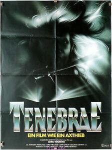 Filmplakat Tenebrae/Unsane 1982 Dario Argento Atlas-Filmverleih Z.2